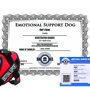 Standard Emotional Support Dog Registration