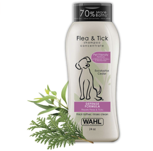 Wahl Flea & Tick Repelling Dog Shampoo for Pets